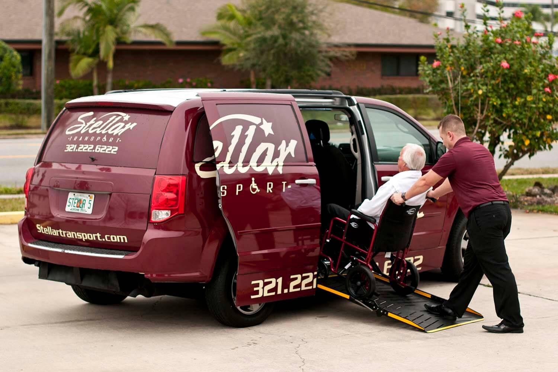 Wheelchair Transportation Vehicle