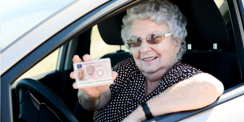 Correlation Between Senior Health & Loss of Driver's License