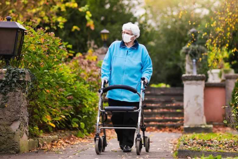 Rollator Safety Tips for Seniors